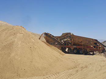 machine to move sand